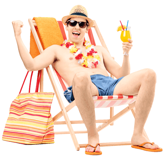 man-relaxing-on-chair